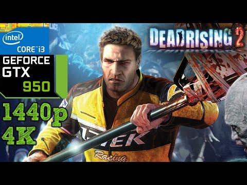 Dead Rising 2 - GTX 950 - i3 (Simulated) - 8GB RAM - 1440p - 4K - 동영상