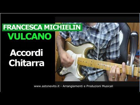 Francesca Michielin Vulcano - ACCORDI CHITARRA (Come suonare)