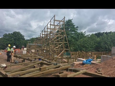 Alton Towers SW8 Construction Update - 3rd July 2017