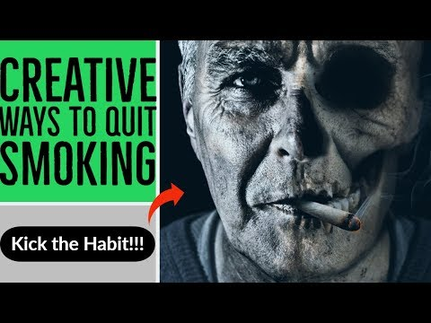 Creative ways to quit smoking