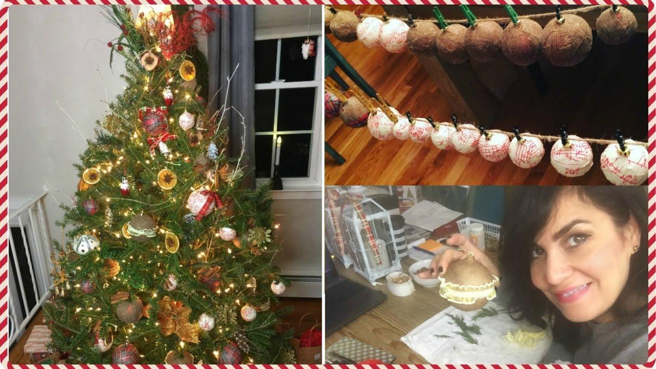 Como decorar arbol de navidad natural paso a paso rustic glam christmas tree youtube - Decorar cestas de mimbre paso a paso ...