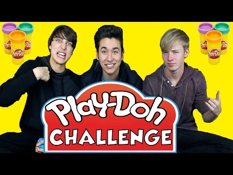 PLAY DOH CHALLENGE Feat. Sam and Colby | Brennen Taylor