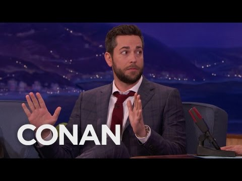 Zachary Levi Missed His Last CONAN Appearance