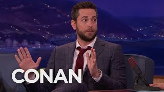 Video Zachary Levi Missed His Last CONAN Appearance download MP3, 3GP, MP4, WEBM, AVI, FLV Juli 2018