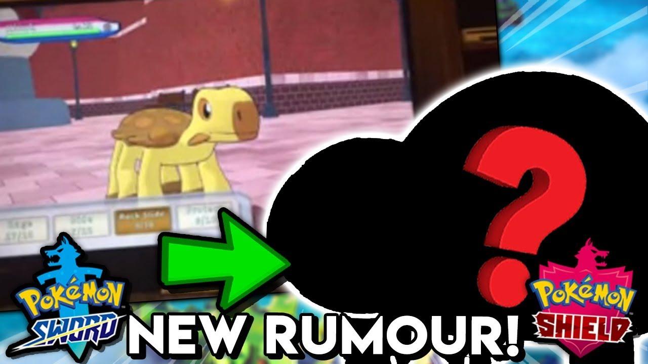 Pokemon Sword Shield New Rumour Potential New Pokemon Gameplay