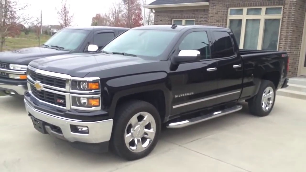 My New Truck 2014 Chevy Silverado Double Cab Ltz Z71 Youtube