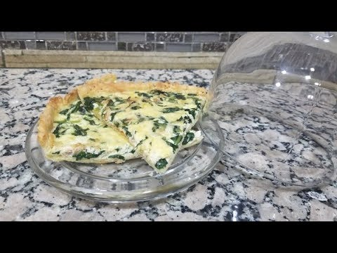 meilleur-recette-de-quiche-aux-épinards-et-au-thon-كيش-بالسبانخ-والتونة-من-ألذ-مايكون