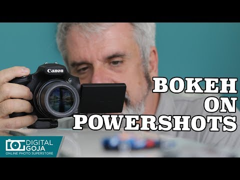 How to blur the background in PowerShot Cameras | Basic Phot