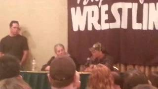 Asking HBK and Bret a question