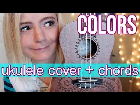 Colors - Halsey | ukulele cover + easy chords
