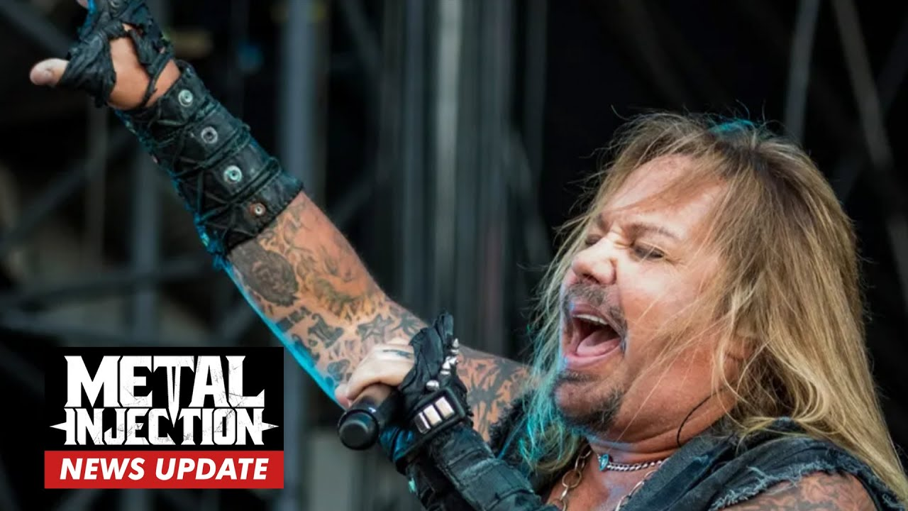 """MOTLEY CRUE's Vince Neil """"Back Home And Resting After Breaking A Few Ribs   Metal News"""