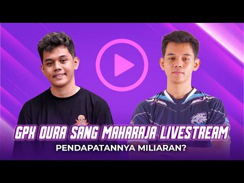 UPTREND#40 - GPX OURA SANG MAHARAJA LIVESTREAM PECAHKAN REKOR WHR NIMO TV! PENDAPATANNYA MILIARAN?