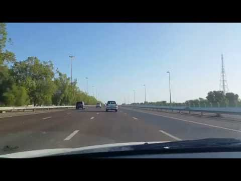 Driving in Abu Dhabi