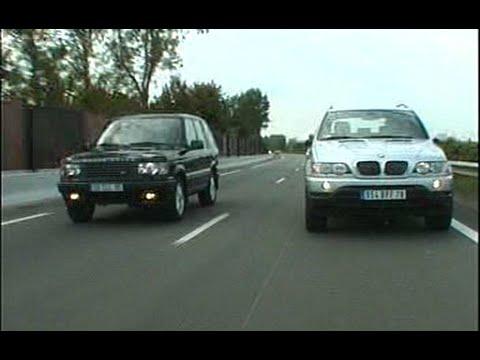 Bmw X5 E53 / Range Rover HSE (Test - Essai - Reportage) FR 2000