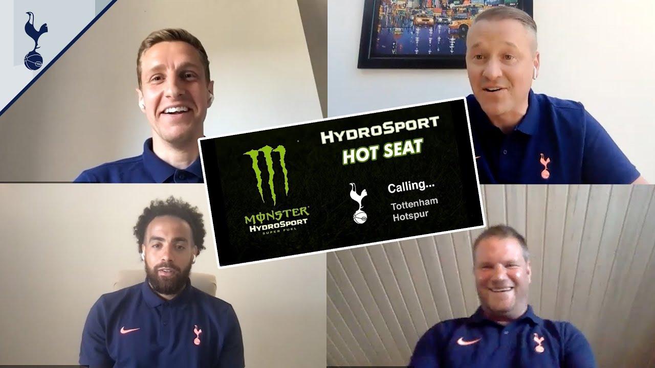 The groundsman's worst nightmare! 🤣 Dressing room SECRETS | Dawson, Huddlestone, Tainio & Robinson