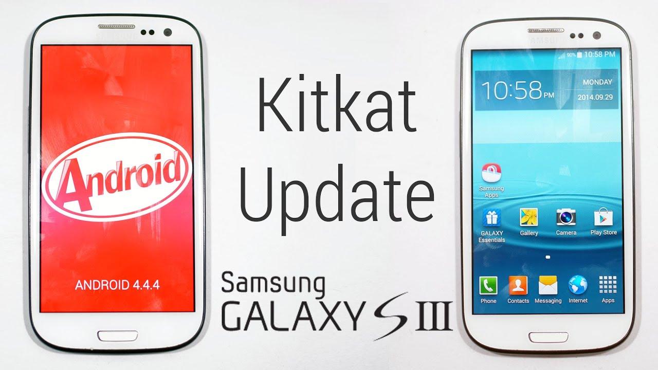 Galaxy S3 I9300 Kitkat 4 4 Update Samsung Touchwiz Based How To Flash Install Youtube