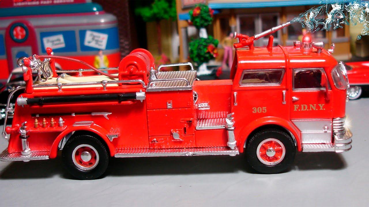 Видео про пожарные машины #5