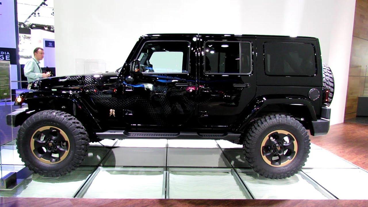 2013 Jeep Wrangler Dragon Concept Exterior Walkaround
