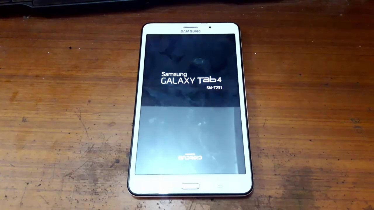 SAMSUNG SM-T231 GALAXY TAB 4 BOOTLOOP - RESTART
