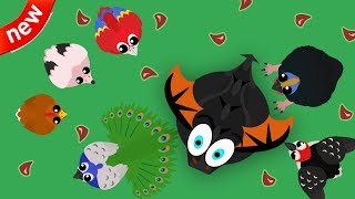 Mope.io - NEW Christmas Update!! NEW 6 Animals In Mope.io// Funniest Mope.io Trolling