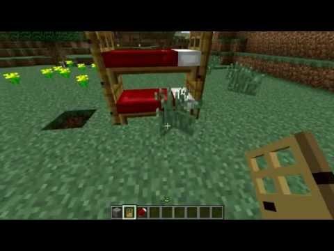 Minecraft tutorial 8 como hacer una litera youtube - Como hacer una litera ...