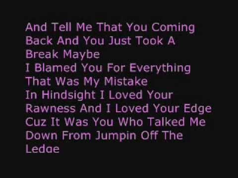 Nicki Minaj Dear Old Nicki wLyrics on Screen