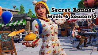 Secret Banner Week 6 Season 7-Fortnite (hidden banner Season 7 Week 6)