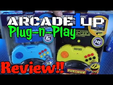 Arcade 1up Plug-n-Play System Review!! from DevilDo99 Gaming