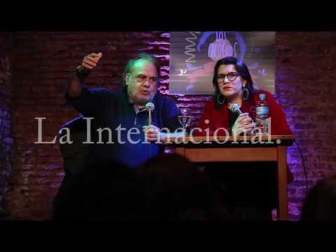 Café Los Chisperos empezó un ciclo de agenda popular de Entrevista Cynthia Garcia a Jorge Aleman