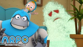 Arpo the Robot | Watch Out for Germs! | Best Moments | Funny Cartoons for Kids | Arpo and Daniel