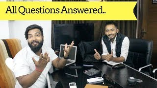 All Questions Answered with FlexiTricks (Shivam) - QnA