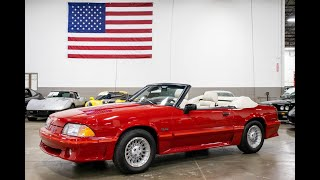1988 Ford Mustang GT Test Drive