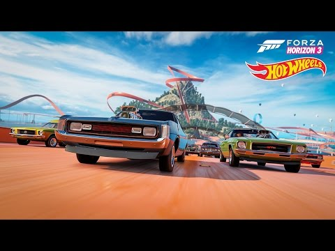 Forza Horizon 3 Unlocking Hot Wheels DLC Expansion Pack