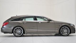 Brabus Mercedes CLS Shooting Brake 2013 Videos