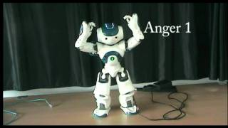 Emotion Expression with NAO (Ro-Man 2011)