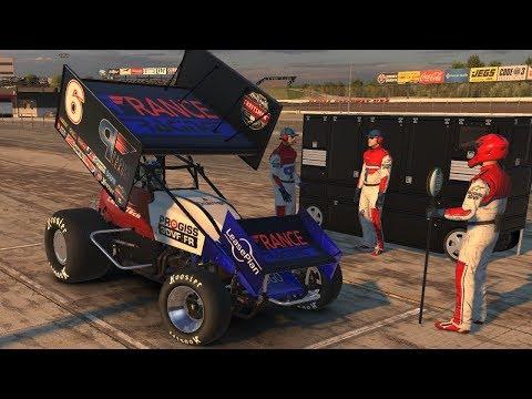 iRacing - Dirt#7 - En 410 sur Eldora Speedway !