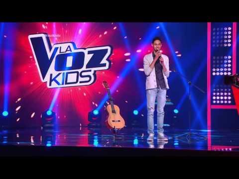 Daniel A. cantó Que lloro de L. García y N. Schajris – LVK Col - Audiciones a ciegas – Cap 12 – T2