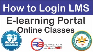 How To Login LMS | Superior College | E-learning Portal | Online Classes 2020