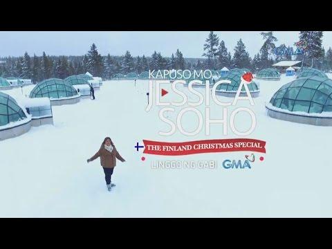 Kapuso Mo, Jessica Soho: White Christmas in Finland