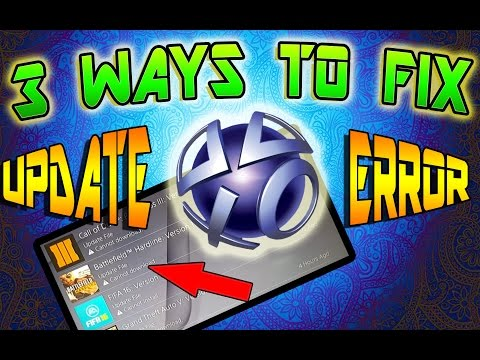 HOW TO FIX GAME UPDATE ERROR ON PS4 | CE-36244-9 Error Message