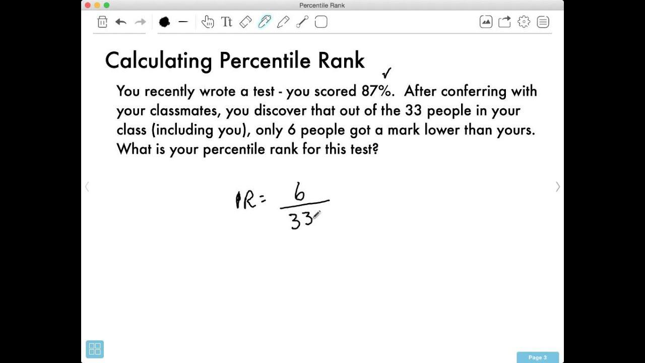 Percentile Rank « The WAEC Math F.A.Q.s