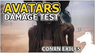 AVATARS - Damage Test   CONAN EXILES