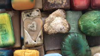 ASMR SOAP #88 /Cutting strange soaps 🧼 Резка странных мыл