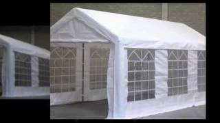 PartyTentPlaza partytent 6 x 3 m LUXE