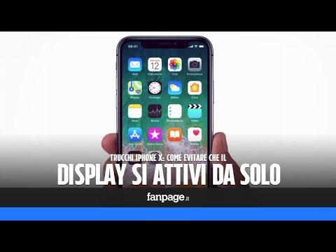 Il Display Di Iphone X Si Attiva Da Solo Ecco Come Risolvere Il