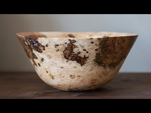 How to Turn a Bowl from Start to Finish with Wood by Wright | Woodturning