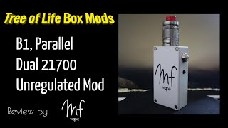 Tree of Life Box Mods - B1 Box Mod - Unregulated Parallel Dual 21700 - How is it after 2 months?