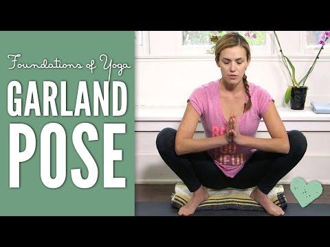 Garland Pose Foundations of Yoga