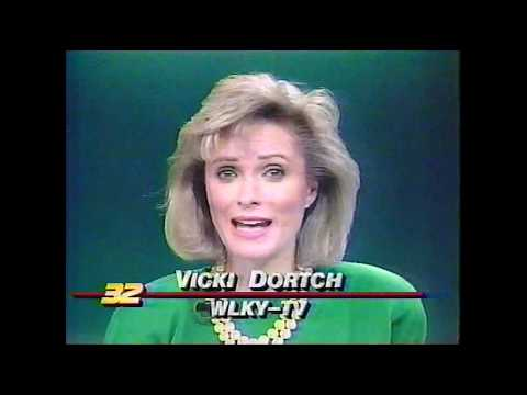 WLKY 32 Louisville KY 11PM News March 23 1990 Complete W/Commercials And Signoff