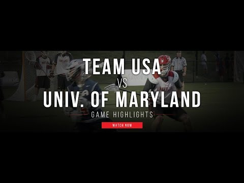 Team USA vs Univ. of Maryland  | 2017 Team USA Fall Classic